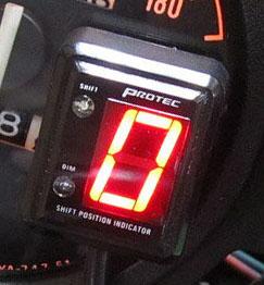 ZRX1200R(01~03年) SPI-K71 シフトポジションインジケーター車種専用キット PROTEC(プロテック)