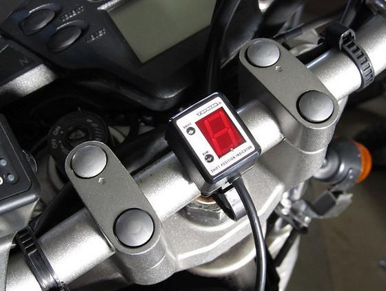 セロー(SEROW)キャブ/Fi共通 SPI-Y22 シフトポジションインジケーター車種専用キット PROTEC(プロテック)