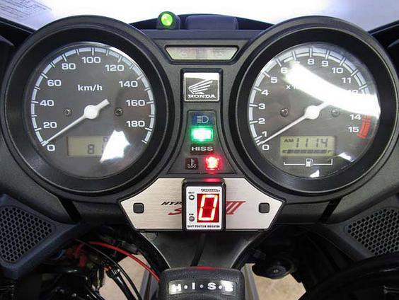 CB400SB H-VTEC SPEC III(キャブ車)05~07年 SPI-H12 シフトポジションインジケーター車種専用キット PROTEC(プロテック)