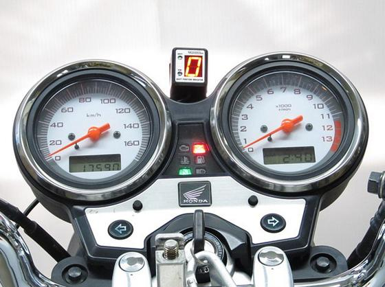VTR250(09年~)FI車 SPI-H14 シフトポジションインジケーター車種専用キット PROTEC(プロテック)