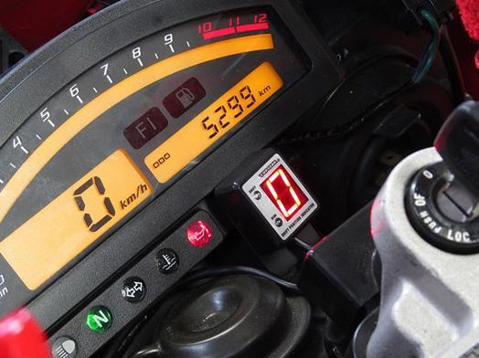VTR1000 SP-1(00~01年) SPI-H15 シフトポジションインジケーター車種専用キット PROTEC(プロテック)