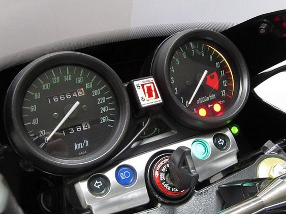 ZRX1200R(04~06年) SPI-K75 シフトポジションインジケーター車種専用キット PROTEC(プロテック)