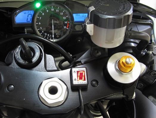 YZF-R1(04~08年) SPI-Y24 シフトポジションインジケーター車種専用キット PROTEC(プロテック)