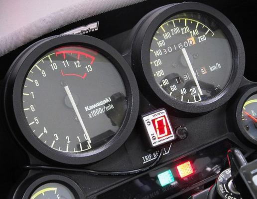 GPZ900R Ninja(ニンジャ)A12~A16(海外仕様) SPI-K76 シフトポジションインジケーター車種専用キット PROTEC(プロテック)