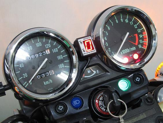 ZRX400/ZRX-II(04~08年) SPI-K78 シフトポジションインジケーター車種専用キット PROTEC(プロテック)