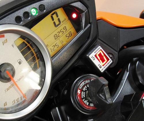 Z750(07~10年) SPI-K59 シフトポジションインジケーター車種専用キット PROTEC(プロテック)