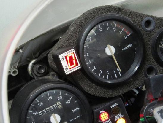 NSR250R/-SE/-SP(90~93年) SPI-H27 シフトポジションインジケーター車種専用キット PROTEC(プロテック)