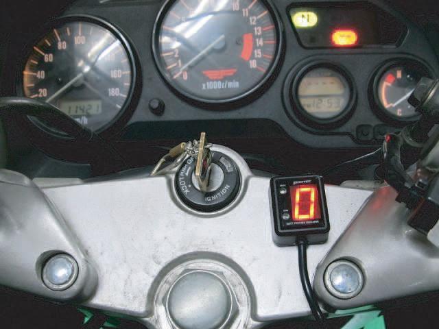 RF400R・RV(96年~) SPI-S49 シフトポジションインジケーター車種専用キット PROTEC(プロテック)