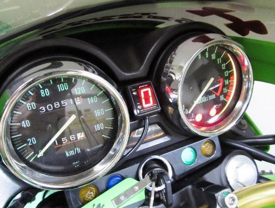 ZRX400(98~00年) SPI-K50 シフトポジションインジケーター車種専用キット PROTEC(プロテック)