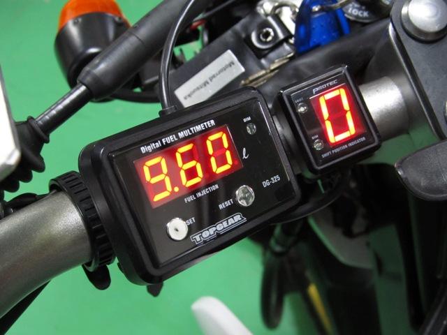 セロー250(08年~) DG-Y06 デジタルフューエルメーター車種専用キット PROTEC(プロテック)