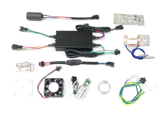 ズーマーX(ZOOMERX) サイクロンシリーズ LB7-ZX LEDヘッドライトバルブキット PH7 6000K PROTEC(プロテック)