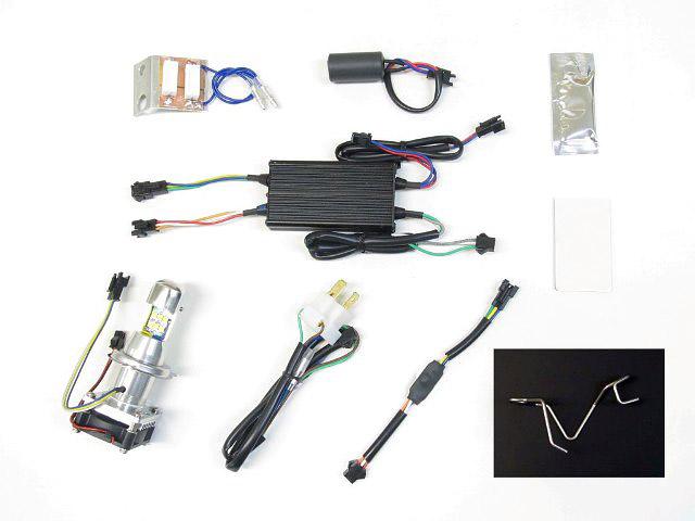 クロスカブ(CROSSCUB) LB4-CC LEDヘッドライトバルブキット HS1 Hi/Lo 6000K PROTEC(プロテック)