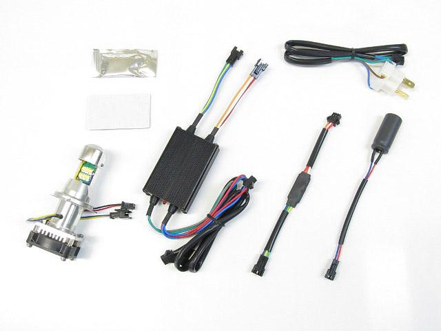 Z125 PRO LB-HS1 LEDヘッドライトバルブキット HS1 Hi/Lo 6000K PROTEC(プロテック)