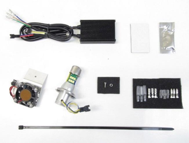 SR400 LB4-SR3 LEDヘッドライトバルブキット H4 Hi/Lo 3000K PROTEC(プロテック)