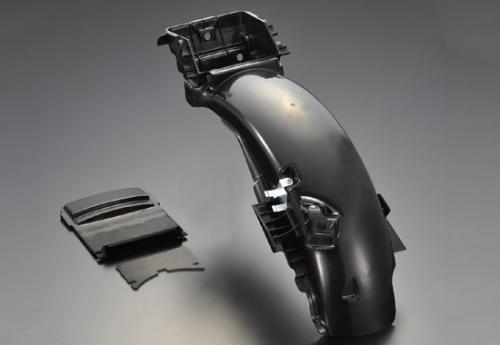 CBX400F 復刻インナーリアフェンダー 黒 PASTEL ROAD(パステルロード)