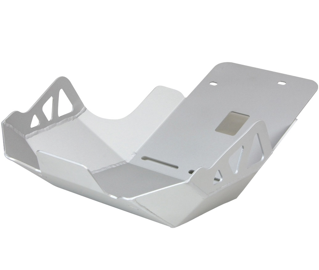 NC750S(EBL-RC70) アンダーガード サンドブラスト シルバー アルミ製 PLOT(プロト)