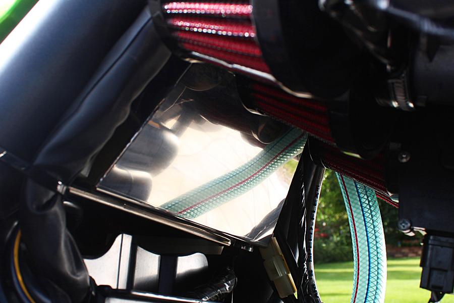 ZRX1200 DAEG(ダエグ) オイルキャッチタンクキット ビニールホース仕様 PMC(ピーエムシー)