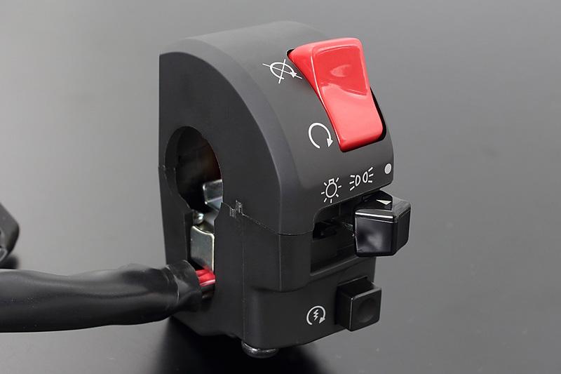 ゼファー1100(ZEPHYR) (A2) ハンドルスイッチ 右側 スイッチ ZXタイプ 輸出仕様(ECモデルを除く) PMC(ピーエムシー)