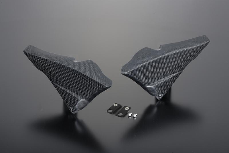 MT-09 サイドカバー 平織カーボン POSH(ポッシュ)