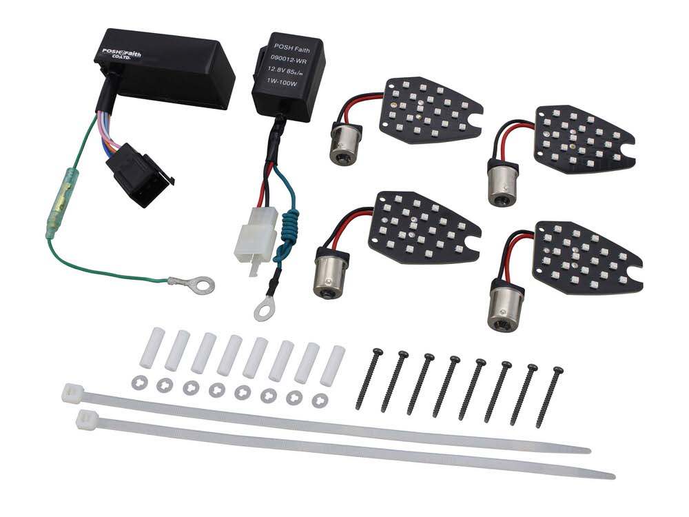CB1300SF・SB(06~13年) LEDウインカーコンバージョンキット POSH(ポッシュ)