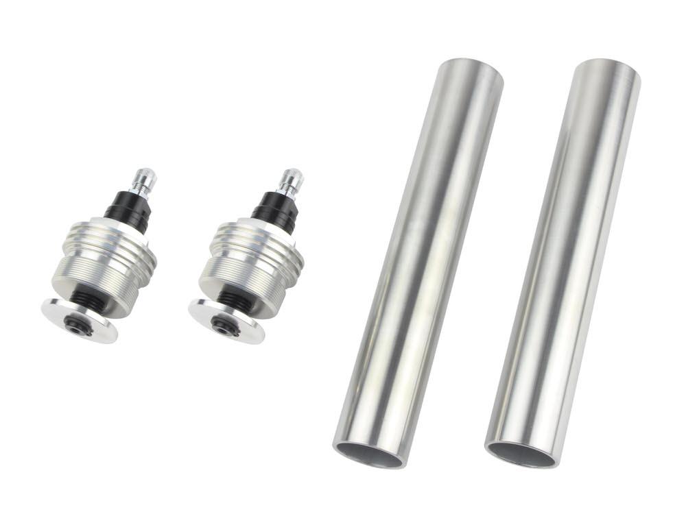 CB400SF/VersionS/V-TEC・SPEC2/3 イニシャルアジャスターTYPE1 エアバルブ付 ブラック POSH(ポッシュ)