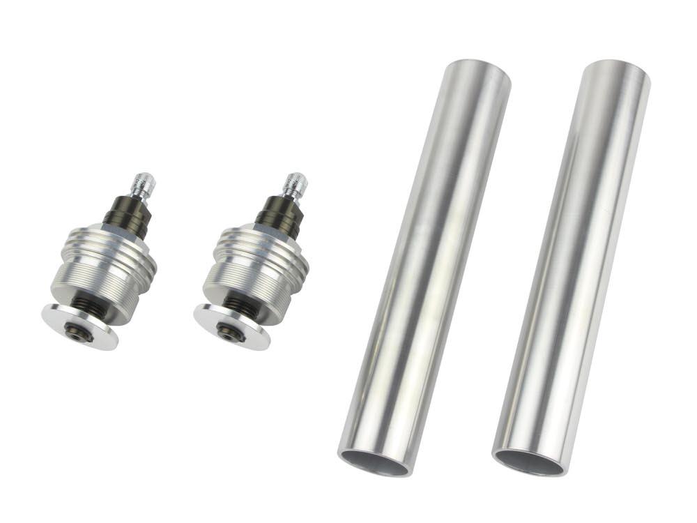 CB400SF/VersionS/V-TEC・SPEC2/3 イニシャルアジャスターTYPE1 エアバルブ付 チタン POSH(ポッシュ)