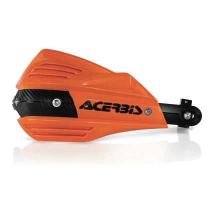 X-FACTORハンドガード オレンジ×ブラック アチェルビス(ACERBIS)