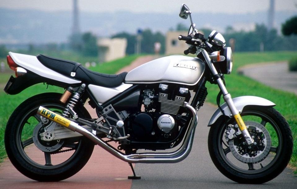 ゼファーχ(ZEPHYR)96~00年RPM-67Racing(レーシング)マフラー(ステンレスサイレンサーカバー)RPM