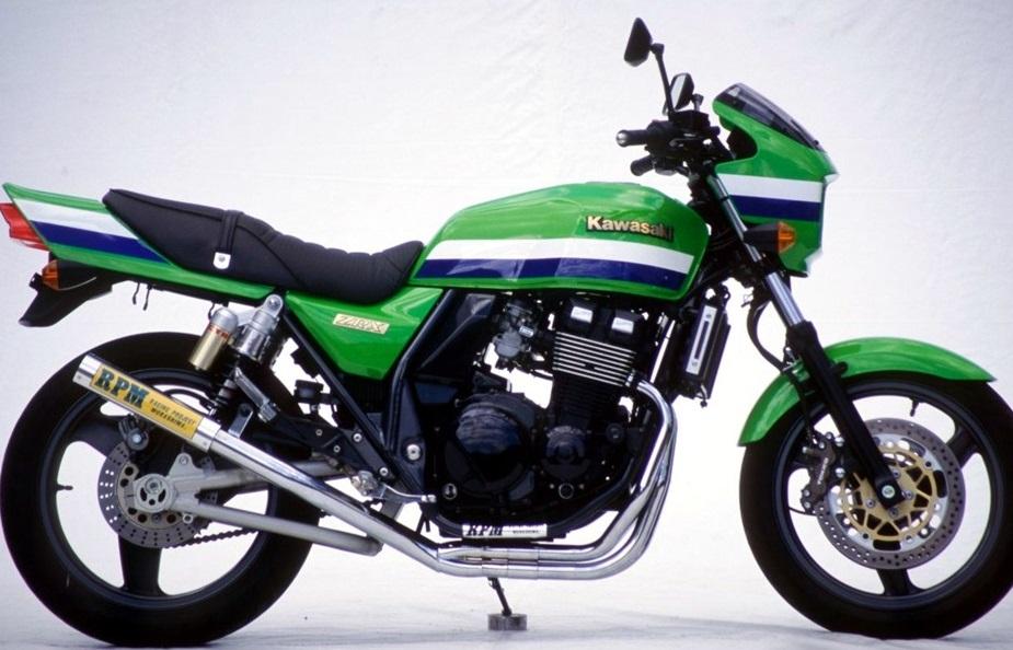 ZRX400/2(98~00年) RPM-67Racing(レーシング)マフラー(ステンレスサイレンサーカバー) RPM
