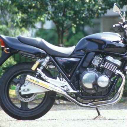 RPMマフラー(ステンレスサイレンサーカバー) RPM CB400(HAWK2/3,CB400T,CB400N)