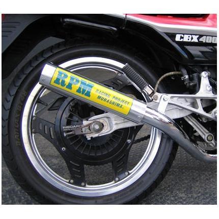 RPM-67Racing(レーシング)チタンサイレンサーカバー CBX400F 81年~ RPMマフラー