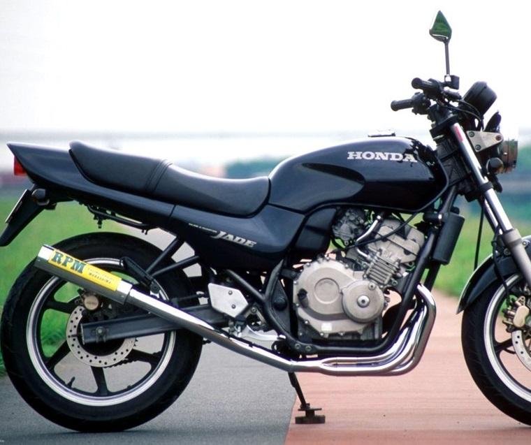 ジェイド(JADE)91~99年 RPM-67Racing(レーシング)マフラー(ステンレスサイレンサーカバー) RPM
