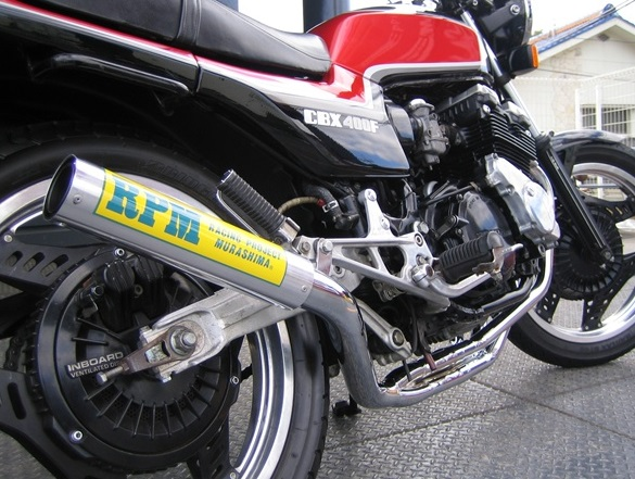 CBX400F(NC07) RPM-67Racing(レーシング)マフラー RPM
