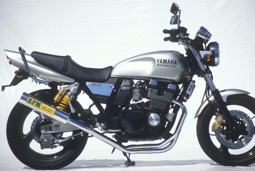 XJR400(01年~) RPM-4-2-1マフラー ステンレスサイレンサーカバー RPM