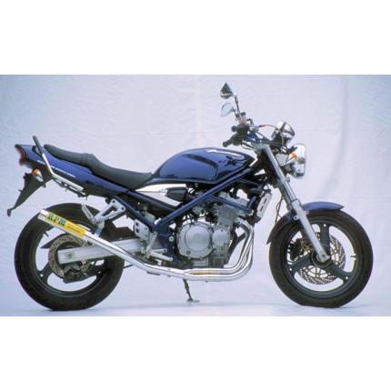 RPM-4-2-1マフラー(チタンサイレンサーカバー) RPM バンディット250(BANDIT)/V(GJ77A/(95~99年)