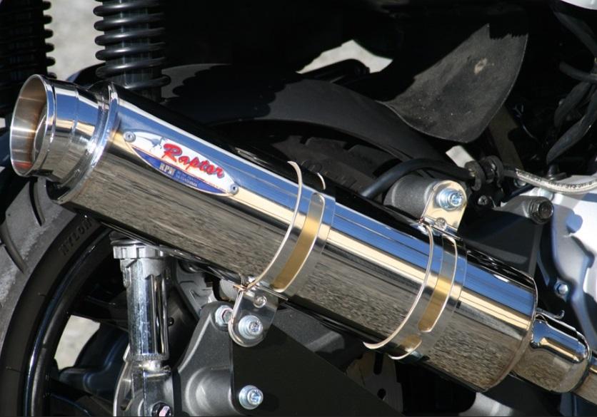 Gilera RunnerVXR&DNA 80D-RAPTOR(ラプター) チタンフルエキゾーストマフラー RPM