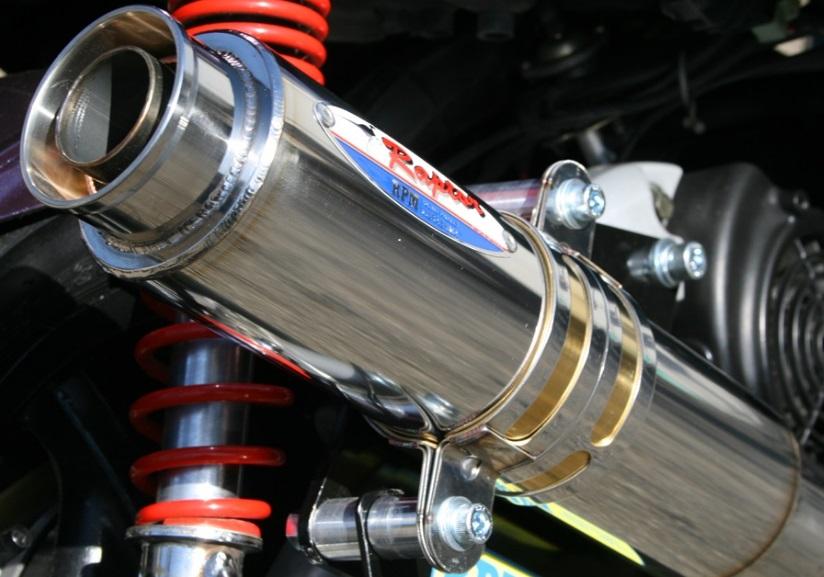 シグナスX(CYGNUS-X)SE12J 80D-RAPTOR(ラプター) チタンフルエキゾーストマフラー JMCA認定 RPM
