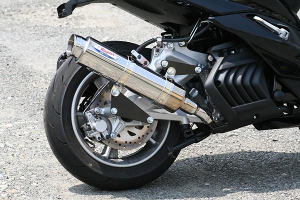 マジェスティS(MAJESTY) 80D-RAPTOR(ラプター) ステンレスフルエキゾーストマフラー RPM