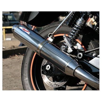 RPM-80D RAPTOR(ラプター)ステンレスフルエキマフラー政府認証タイプ RPM ゼファー750 BC-ZR750C