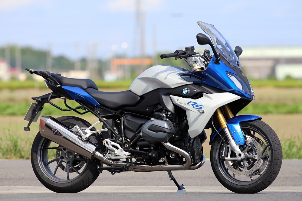 BMW 水冷R1200R/RS Wyvern(ワイバン) チタンフルエキゾースト チタン r's gear(アールズギア)