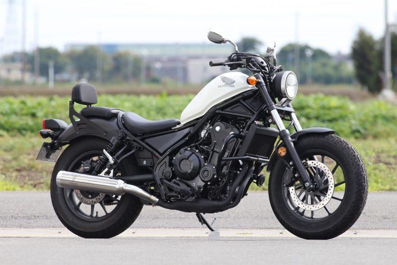 レブル500(Rebel500) Wyvern(ワイバン) Classic スリップオンマフラー クラシカルタイプ r's gear(アールズギア)