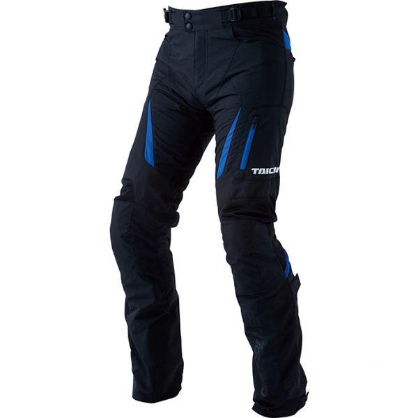 RSY256 クロスオーバー メッシュ パンツ ブラック/ブルー BMサイズ RSタイチ(RSTAICHI)