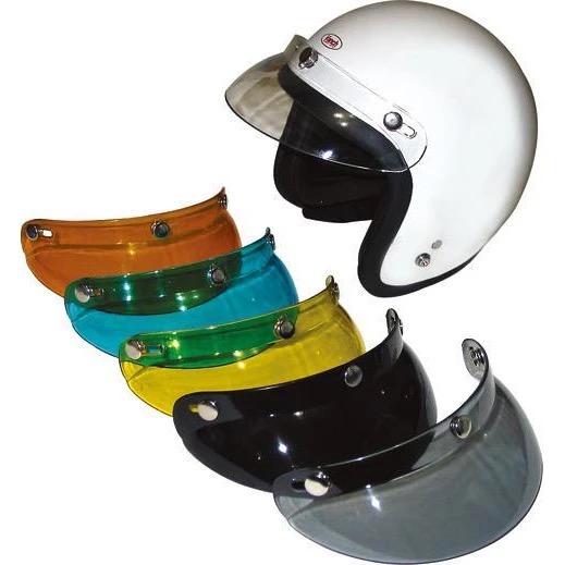 PEEK A BOO 供え 汎用ヘルメットショートバイザー 毎日がバーゲンセール RIDEZ ライズ クリアー