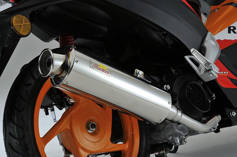 タラニス110(TARANIS) Full Boost(フルブースト)SUS ステンレスマフラー リアライズレーシング(RealizeRacing)