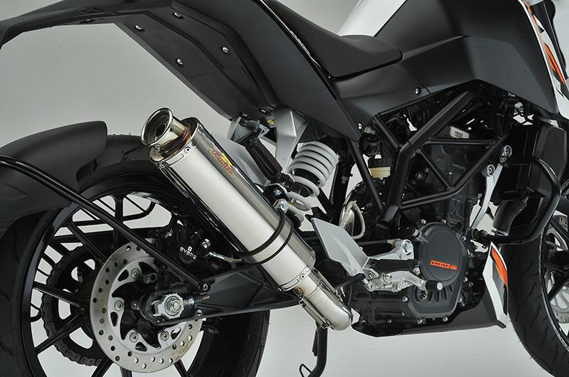 KTM 125DUKE 22Racing SUS ステンレスマフラー リアライズレーシング(RealizeRacing)