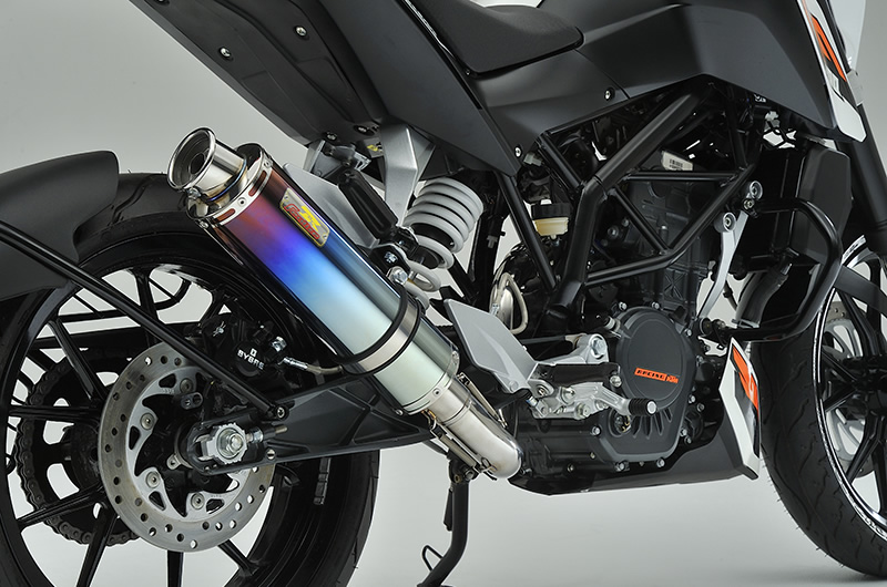 KTM 125DUKE 22Racing Ti チタンマフラー リアライズレーシング(RealizeRacing)