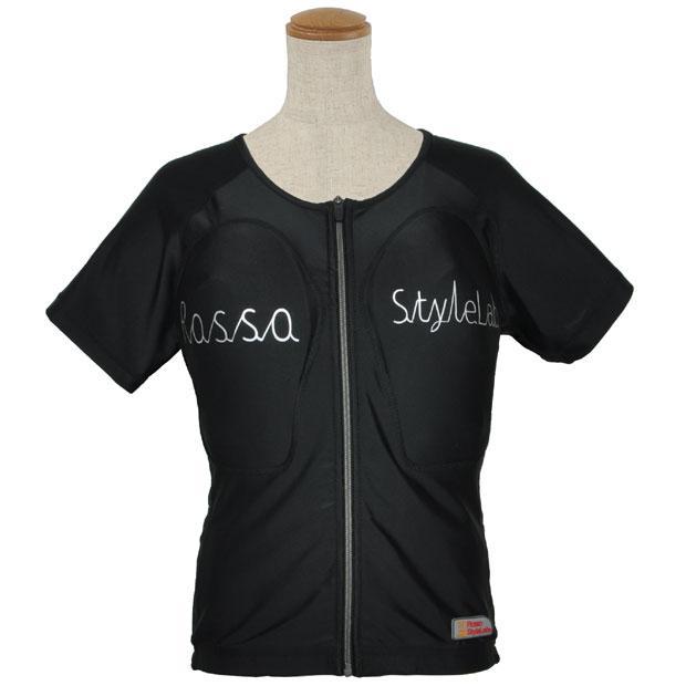 ROPRO-09 レディースプロテクションTシャツ ブラック Lサイズ ロッソスタイルラボ(ROSSOStyleLab)