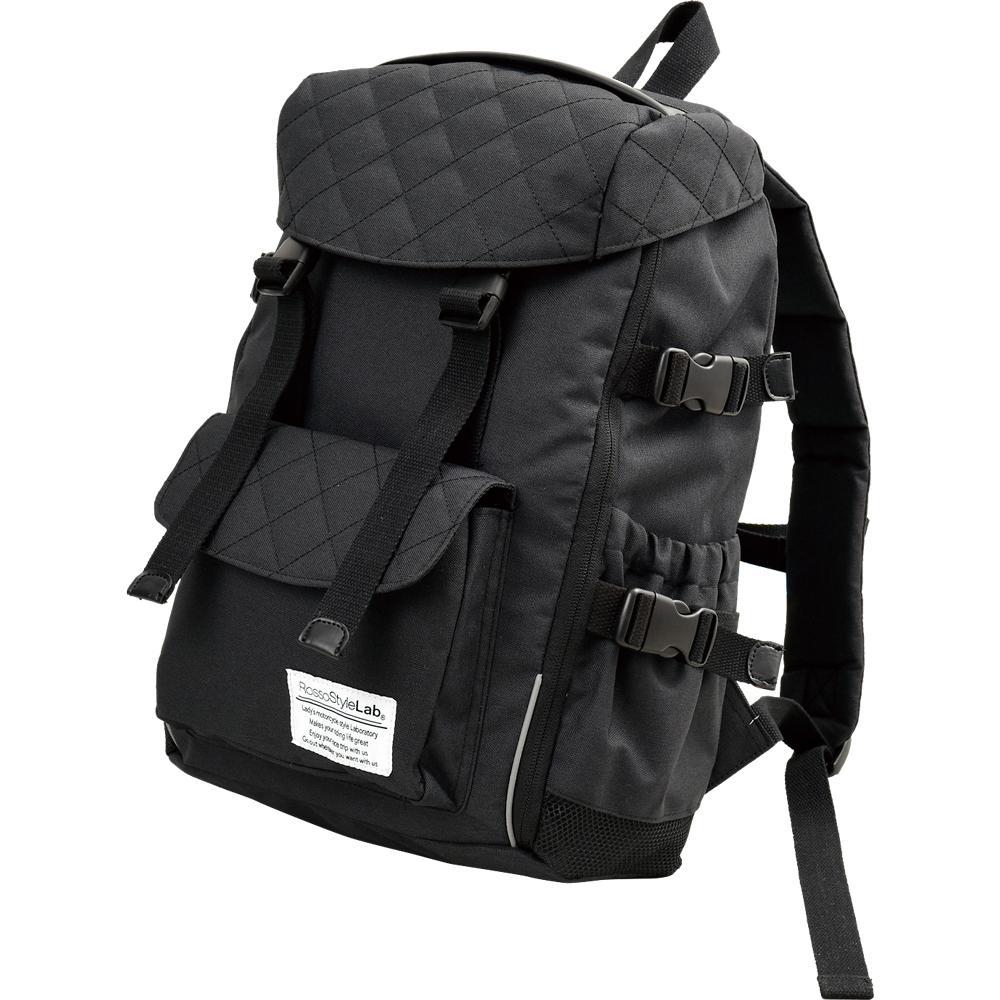 ROT-907 2WAYシートバッグ兼用リュック ブラック ロッソスタイルラボ(ROSSOStyleLab)