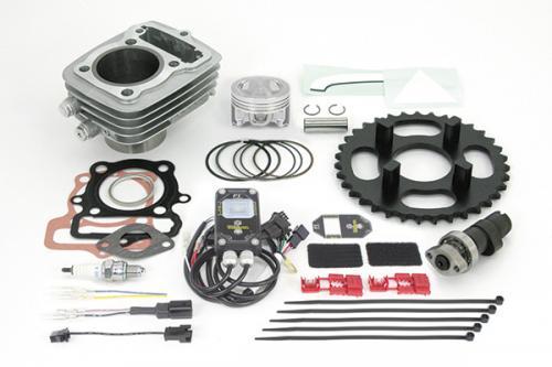 Ape50(FI車) ハイパーSステージボアアップキット80cc SP武川(TAKEGAWA)