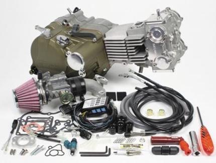 モンキー(MONKEY) デスモドロミック4V コンプリートエンジン124cc(標準仕様) SP武川(TAKEGAWA)